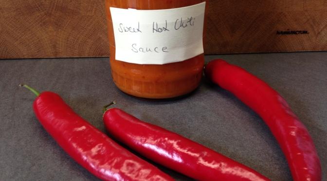 Sweet Chili Soße selbst machen